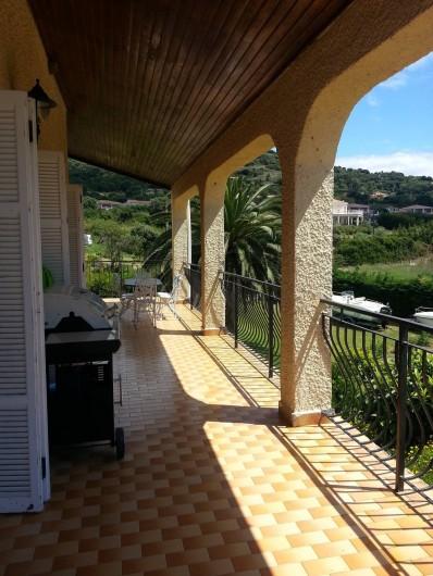 Location de vacances - Appartement à Cargèse - Terrasse du 1er