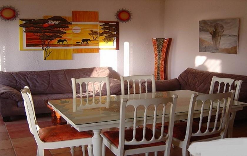 Location de vacances - Appartement à Cargèse - Séjour du RDC