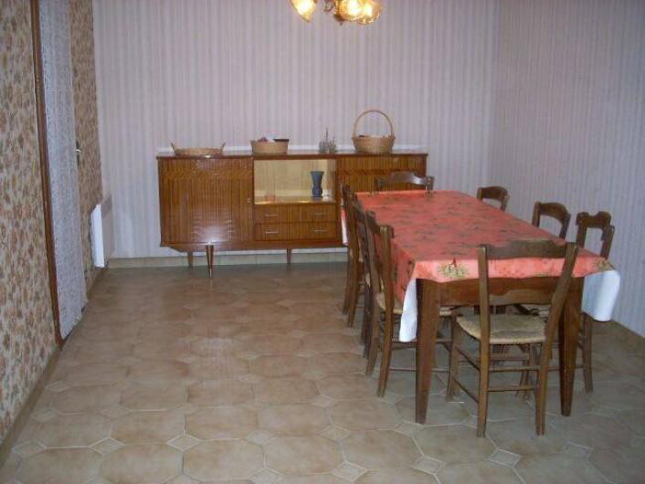 Location de vacances - Villa à Saint-Cyprien Plage - Salle à manger