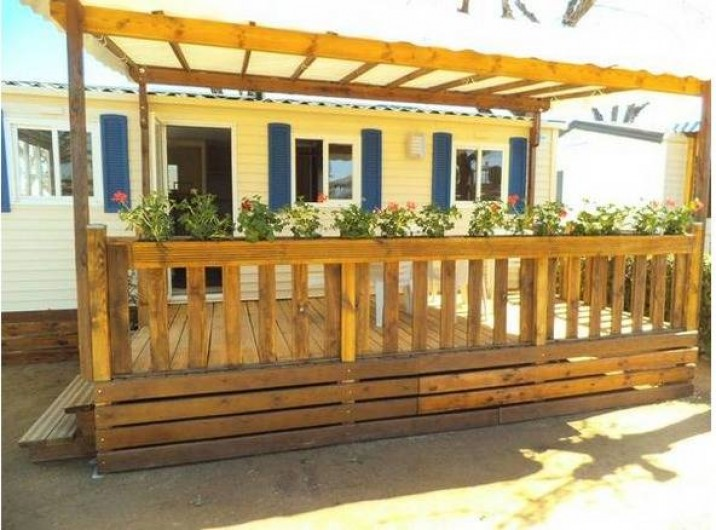 Location de vacances - Bungalow - Mobilhome à Blanes - Mobile-home 2 à 8 personnes