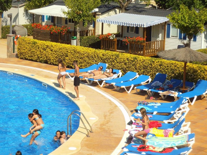 Location de vacances - Bungalow - Mobilhome à Blanes - Camping Piscine
