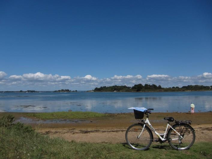 Location de vacances - Villa à Arzon - Ballade à vélo côté Golfe