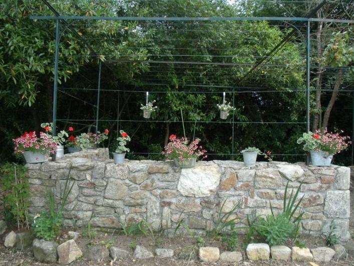 Location de vacances - Chambre d'hôtes à Nivillac - Pergola