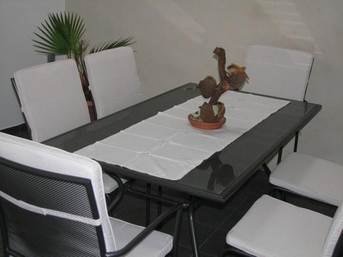 Location de vacances - Gîte à Les Clouzeaux - Table de jardin