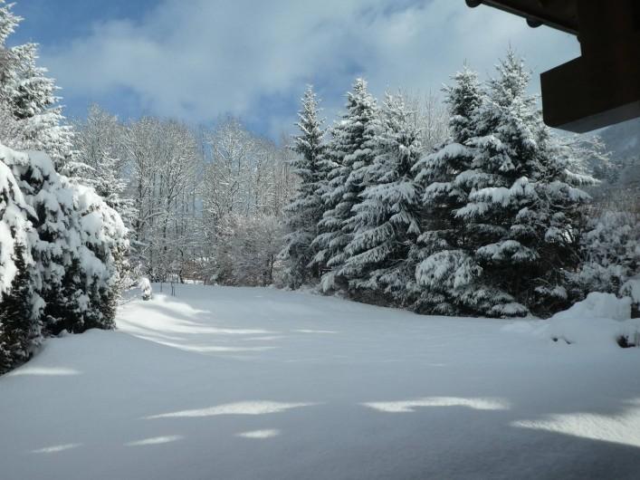 Location de vacances - Chalet à Megève - autour du chalet