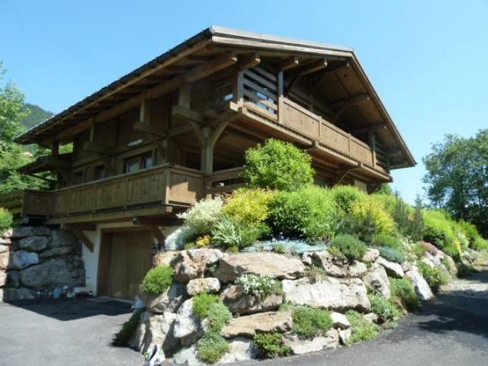 Location de vacances - Chalet à Megève - le Solaret en été