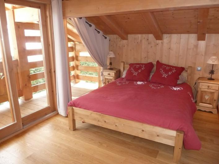 Location de vacances - Chalet à Megève - chambre 2