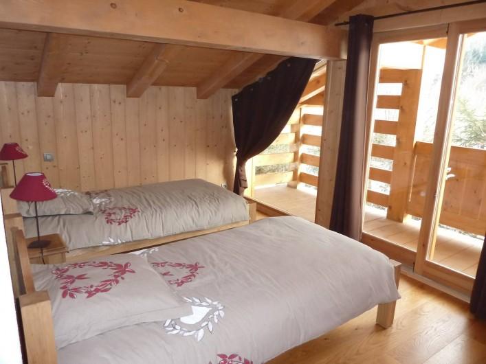 Location de vacances - Chalet à Megève - chambre 3