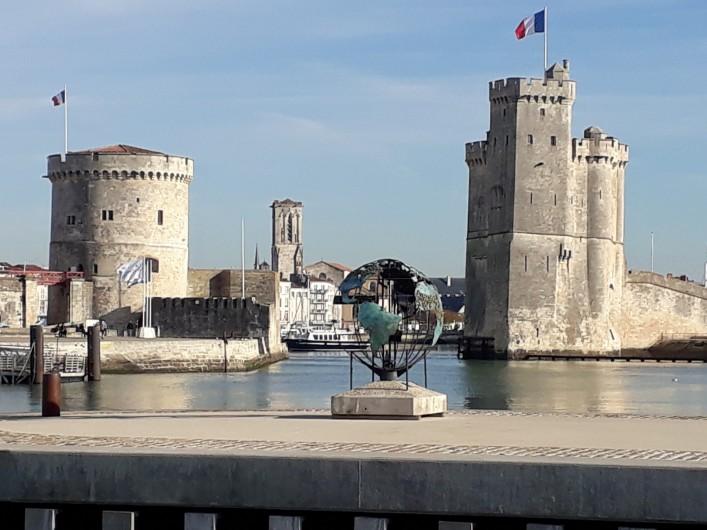 Location de vacances - Villa à Manhattan - Entrée du port de la Rochelle