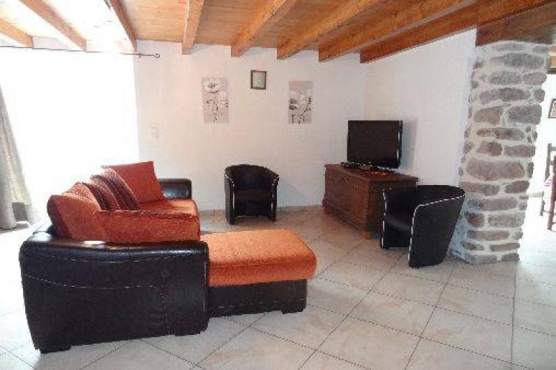 Location de vacances - Villa à Bidarray - grand salon
