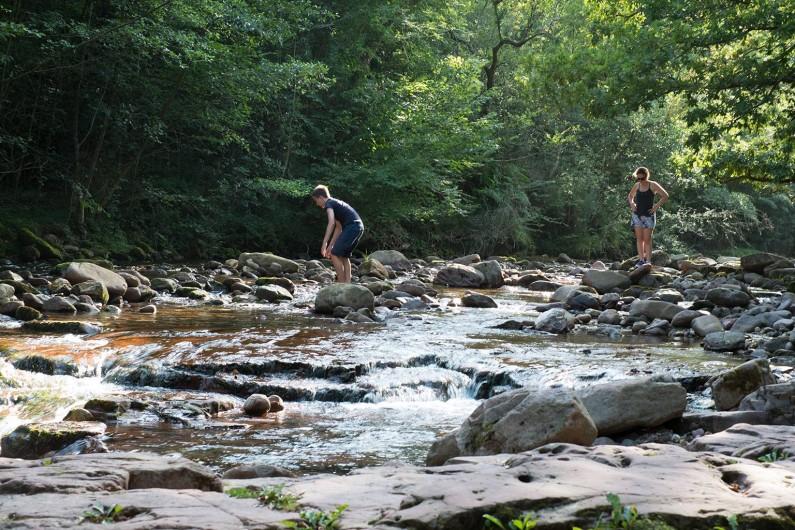 Location de vacances - Villa à Bidarray - rivière à proximitè