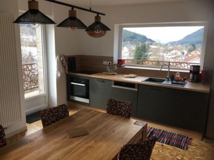 Location de vacances - Gîte à Raon-lès-Leau - Séjour cuisine