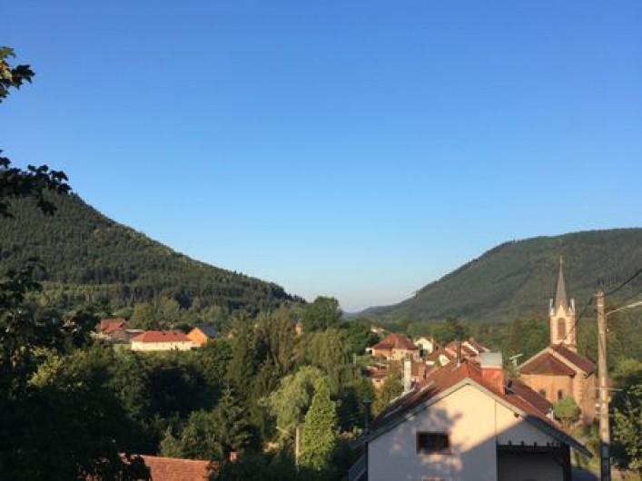 Location de vacances - Gîte à Raon-lès-Leau - Vue de la terrasse