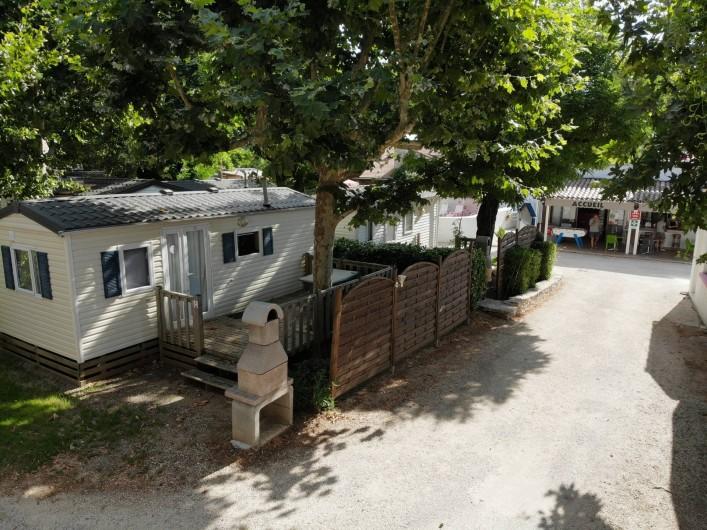 Location de vacances - Bungalow - Mobilhome à Salavas - Mobil-home 5 personnes confort