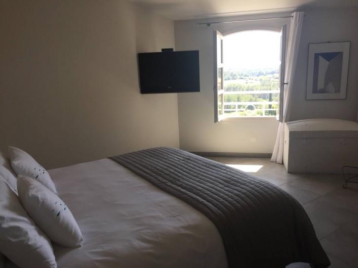 Location de vacances - Appartement à Saint-Cyr-sur-Mer - Chambre principale