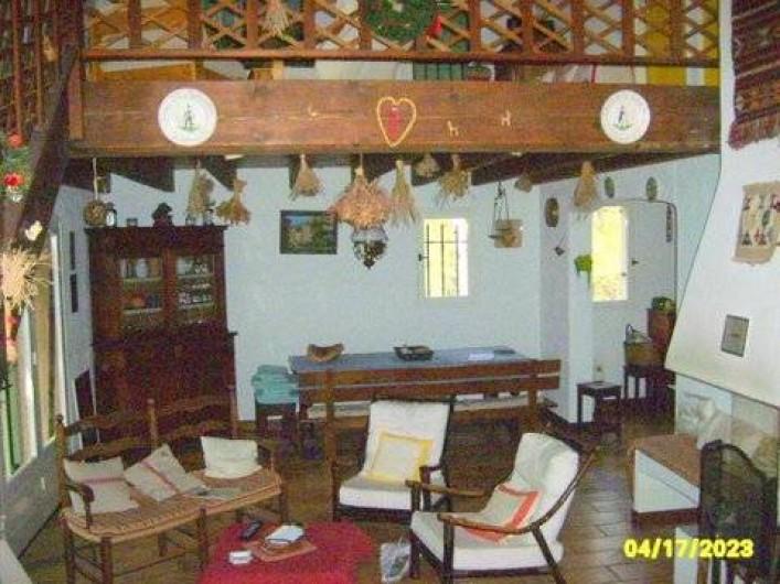 Location de vacances - Villa à Puget - salle de séjour