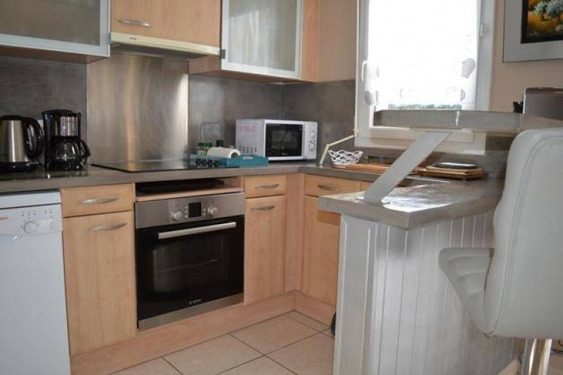 Location de vacances - Appartement à Fréjus - Cuisine américaine
