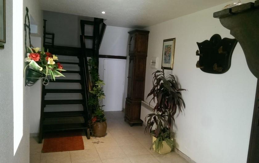 Location de vacances - Appartement à Sengouagnet - Hall d'entrée