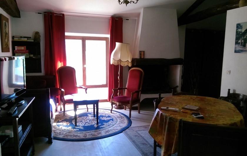 Location de vacances - Appartement à Sengouagnet - Séjour Salle à manger