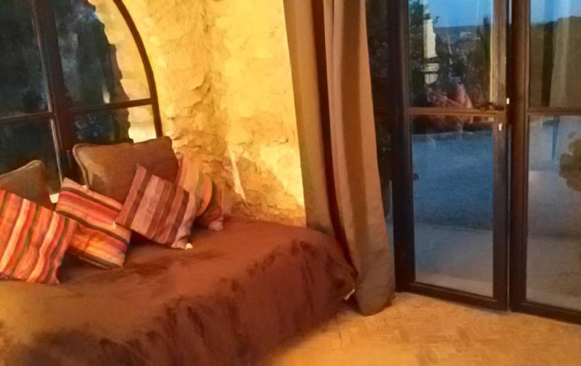 Location de vacances - Villa à Essaouira - Petite chambre d appoint avec lit single armoire +bureau internet