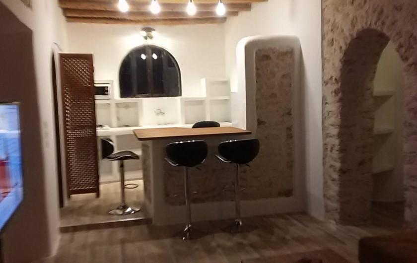 Location de vacances - Villa à Essaouira - Cuisine du Caroubier