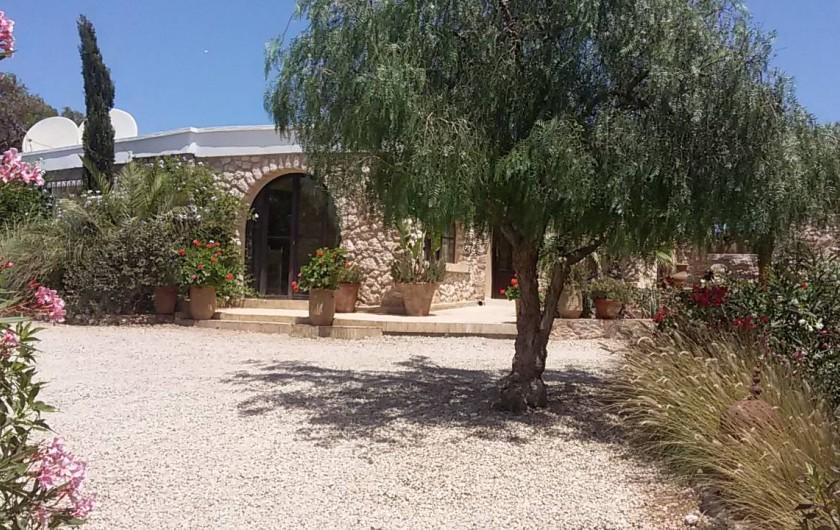 Location de vacances - Villa à Essaouira - Façade de l Arganier