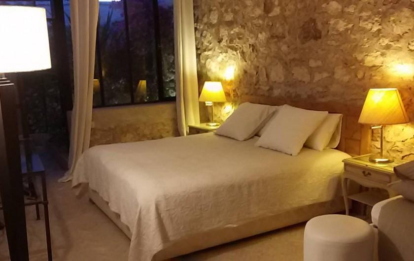 Location de vacances - Villa à Essaouira - Grande chambre avec lit king size + lit single