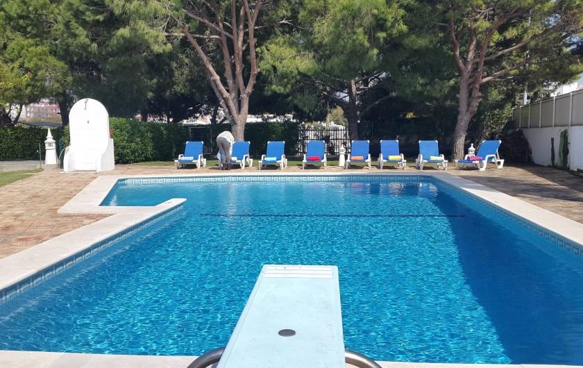 Location de vacances - Villa à Albufeira - POOL