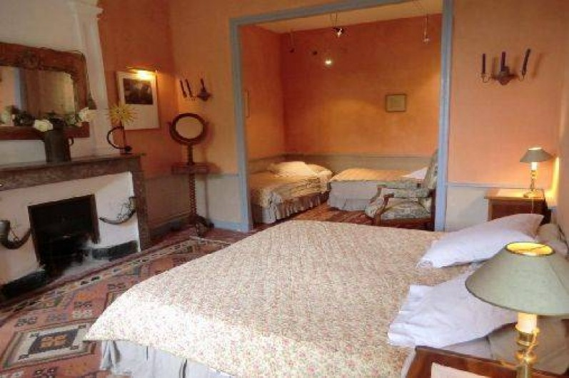 Location de vacances - Chambre d'hôtes à Saint-Lager-Bressac - Chambre Terra Cotta 2 à 4p
