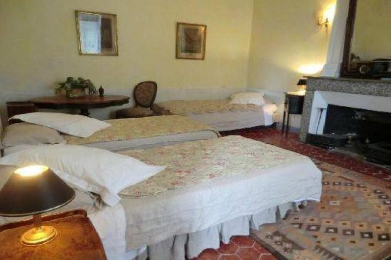 Location de vacances - Chambre d'hôtes à Saint-Lager-Bressac - 2eme chambre de la  Suite TOUR