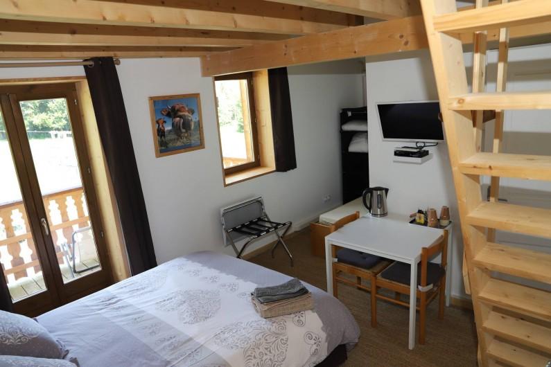 Location de vacances - Chambre d'hôtes à La Féclaz - Chambre Les Bauges