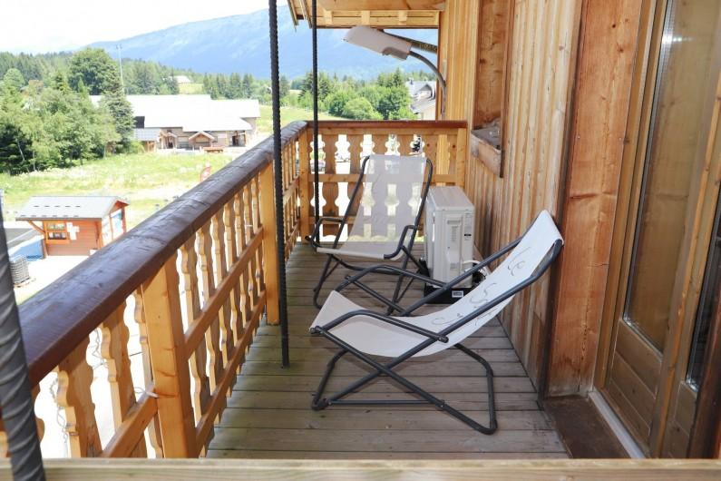 Location de vacances - Chambre d'hôtes à La Féclaz - Chambres face au télésiège