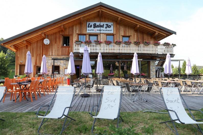 Location de vacances - Chambre d'hôtes à La Féclaz - Au pied de l'alpage l'été