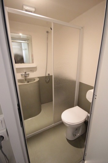 Location de vacances - Bungalow - Mobilhome à La Garette - Bungalow toilé 40m2 4 personnes (salle de bain)