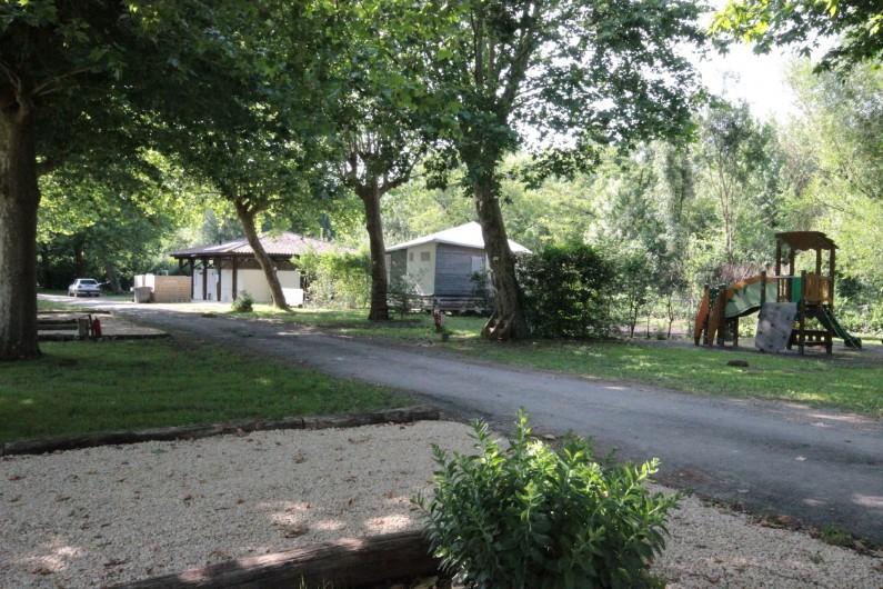Location de vacances - Bungalow - Mobilhome à La Garette - Jeux enfant