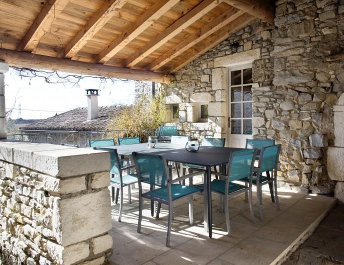 Location de vacances - Mas à Bouquet - La terrasse