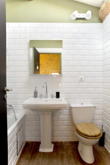 Location de vacances - Mas à Bouquet - La salle de bain n°5