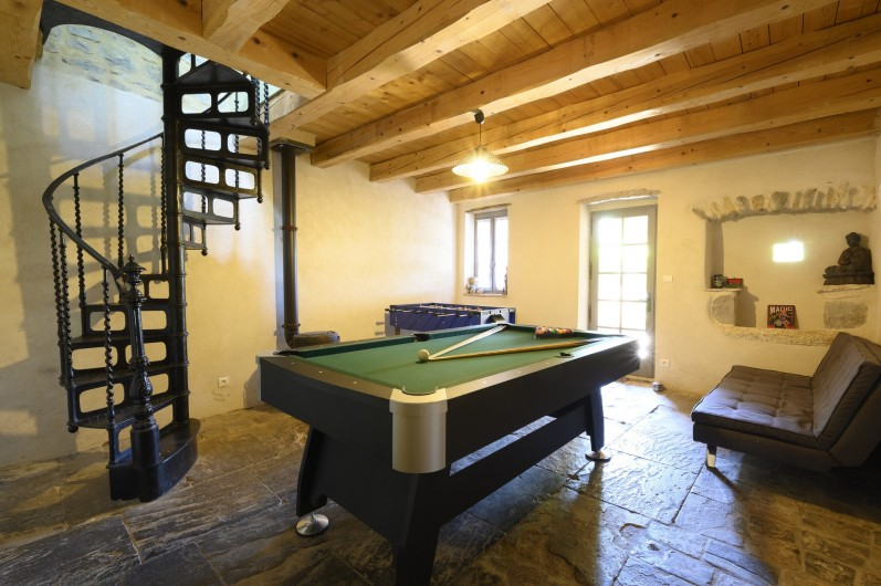 Location de vacances - Mas à Bouquet - La salle de jeux