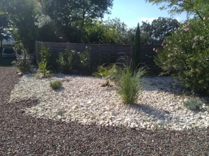 Location de vacances - Mas à Bouquet - Le jardin