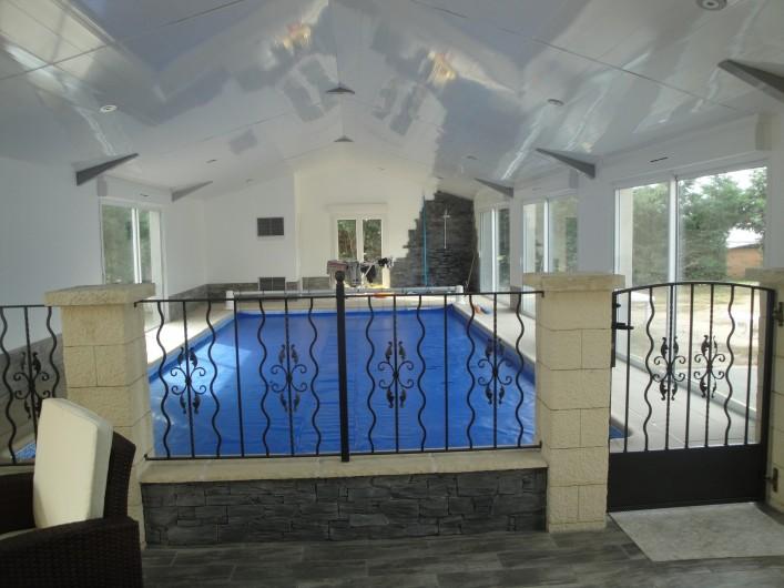 Location de vacances - Chambre d'hôtes à Saint-André-de-la-Marche - La Piscine