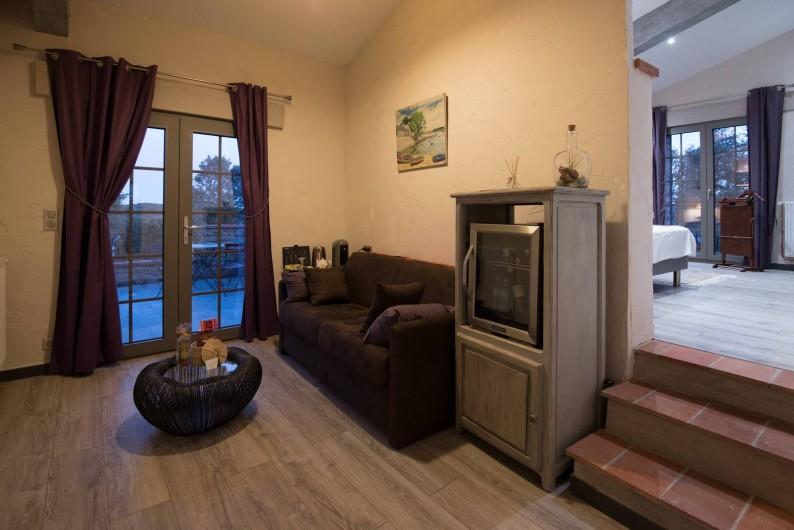 Location de vacances - Mas à Oms - Suite Luxe Collioure (balneo)