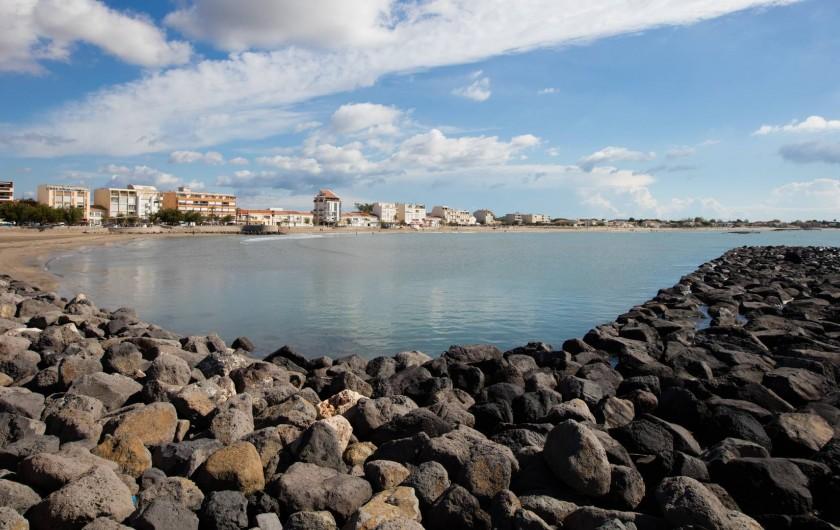 Location de vacances - Bungalow - Mobilhome à Agde - Plage Cap d'Agde