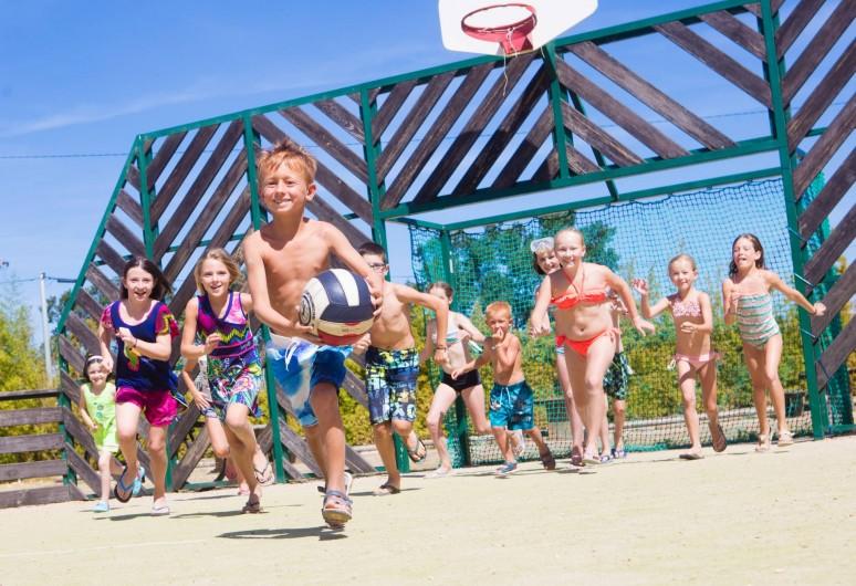 Location de vacances - Bungalow - Mobilhome à Agde - Notre terrain de sports