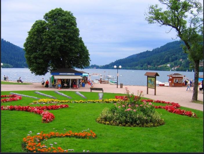 Location de vacances - Appartement à Xonrupt-Longemer - Lac gerardmer à 5 minutes de l'appartement, plage, activités balnéaires...