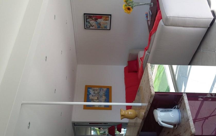 Location de vacances - Studio à Villefranche-sur-Mer - Coin salon