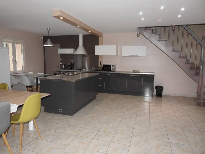 Location de vacances - Maison - Villa à Tour-en-Sologne - Espace cuisine