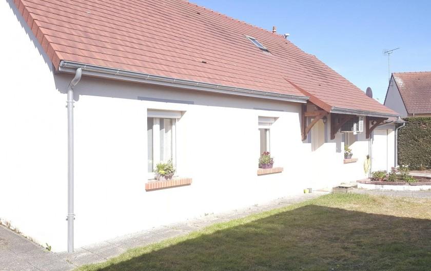 Location de vacances - Maison - Villa à Tour-en-Sologne - Façade côté cour