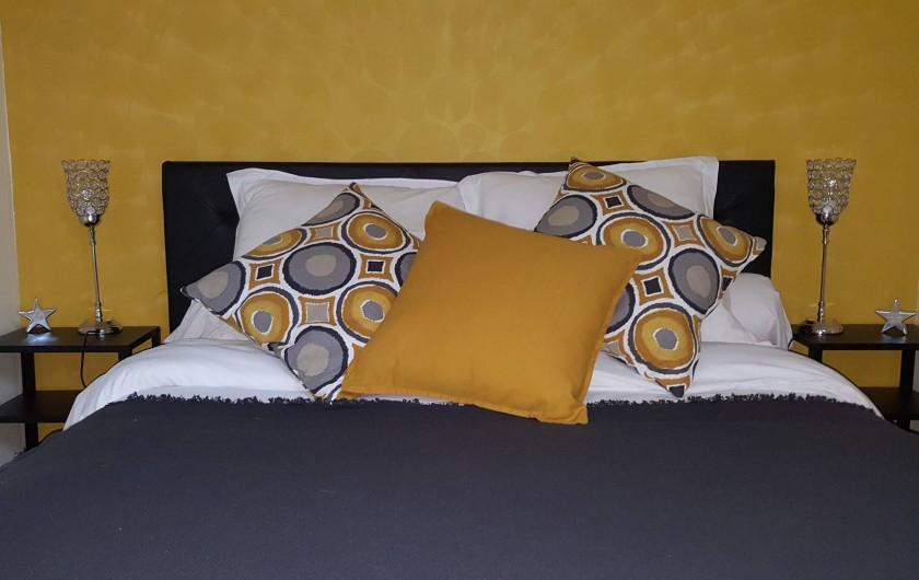 Location de vacances - Maison - Villa à Tour-en-Sologne - Chambre Jaune