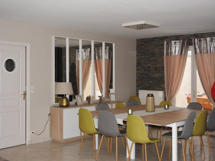 Location de vacances - Maison - Villa à Tour-en-Sologne - Espace salle à manger