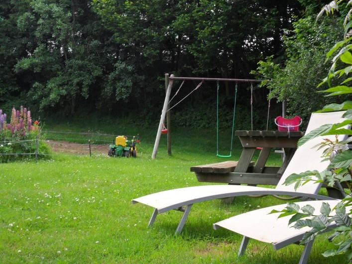 Location de vacances - Gîte à Saint-Pierre-de-Nogaret - Le Jardin